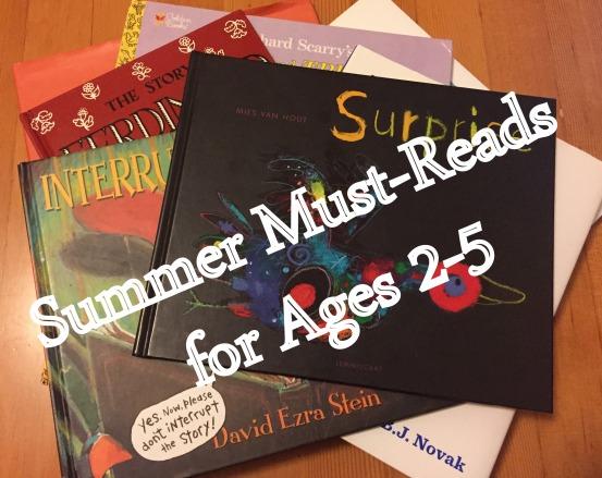 Summer Reading for Pre-K